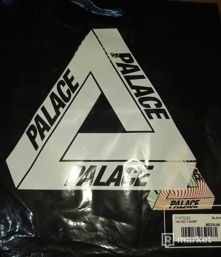 Palace tri tex tee black