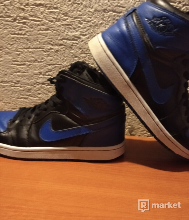 Air Jordan 1 royal og 2017
