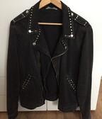Zara čierna rifľová bunda