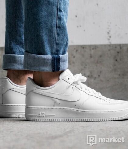 Nike AF1 white/white