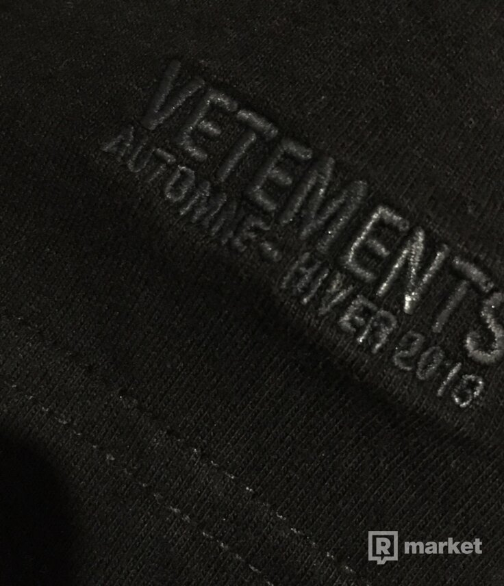 Vetements Genetically Modified tee