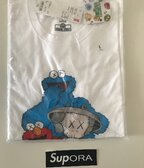 Kaws x Sesame Street Graphic