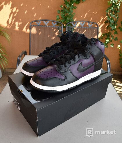 Nike Dunk High Fragment Purple