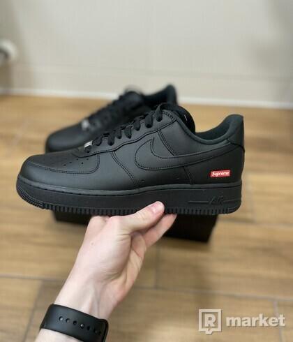 Nike AirForce 1 Low Supreme Black - EU ; 44,5; 45