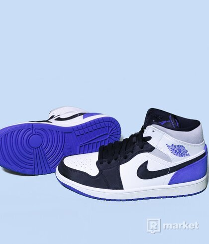 Air Jordan 1 White Black Royal