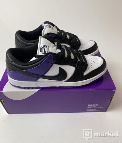 Nike SB Dunk Low Court Purple - US 10