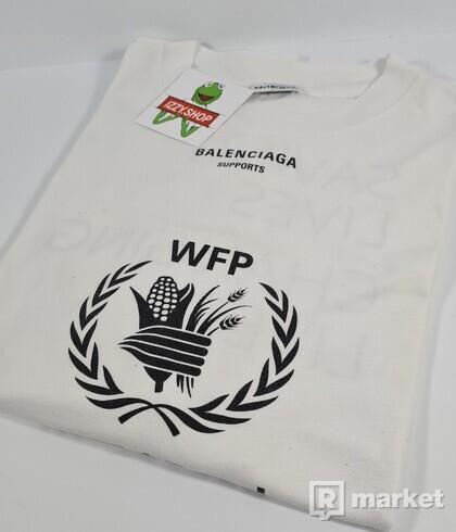 BALENCIAGA WTP TEE WHITE