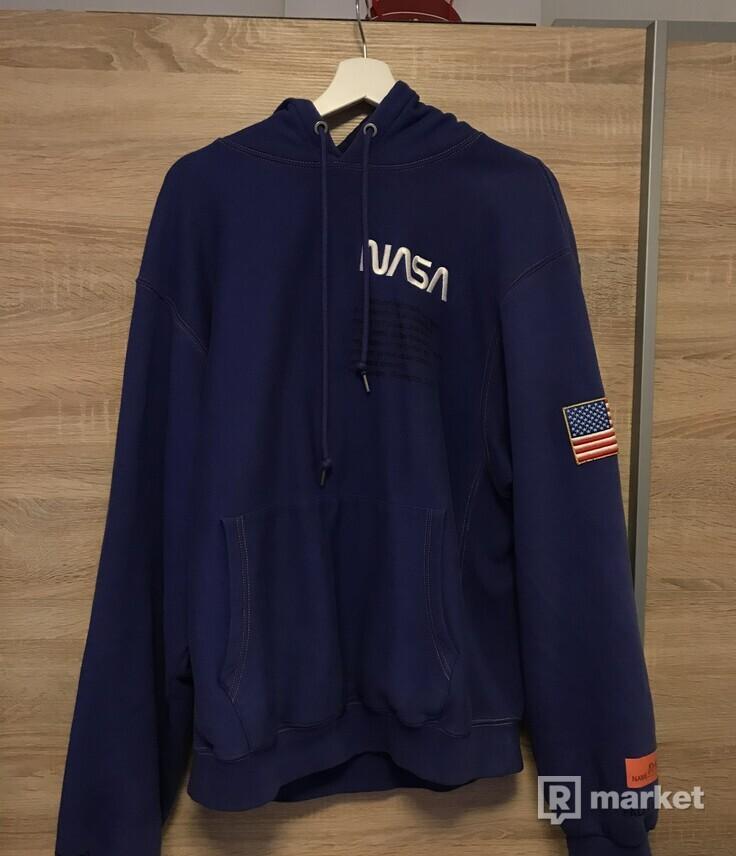 NASA blue hoodie S