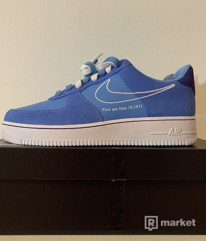 Air force 1 low first use blue [42,44,45]
