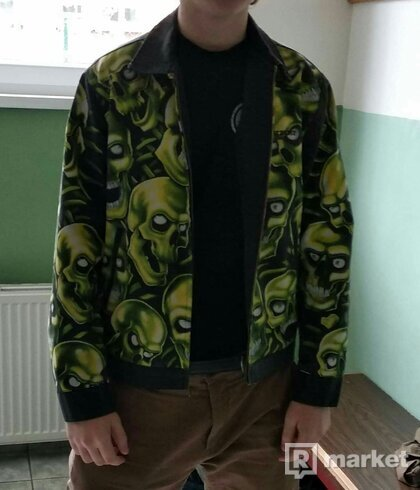 Supreme skull pile work jacket