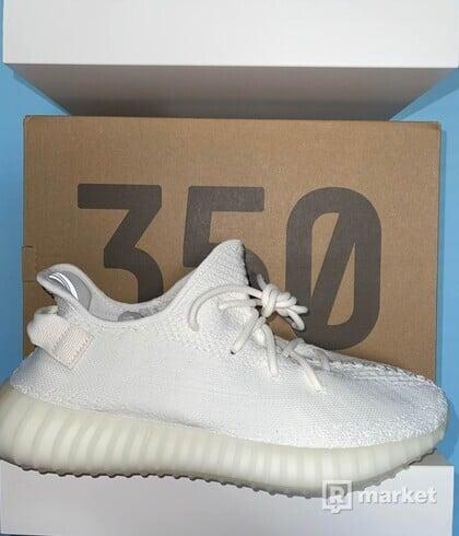 Adidas Yeezy Boost 350 Triple White  44 2/3, 2x 45 1/3