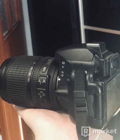 Nikon D5100 telo + objektív Nikon 18-105 + príslušenstvo