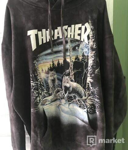 Thrasher 13 wolves hoodie *rare*