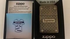 Supreme x Zippo