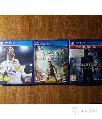 Predám 3  PS4 hry