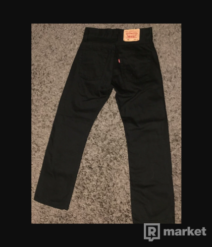 Levis 501 rifle denim