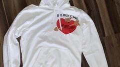 Helmut Lang Valentine hoodie