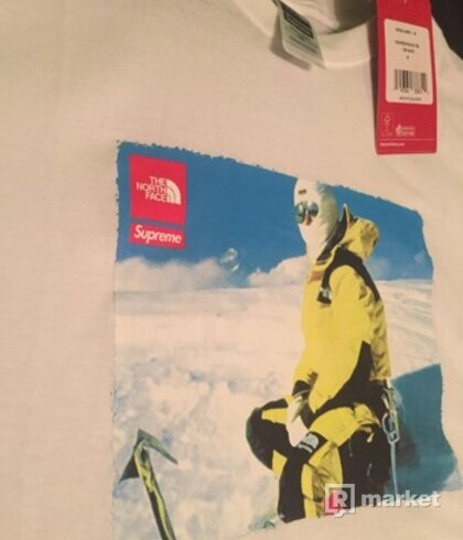 Supreme The North Face Photo Tee White