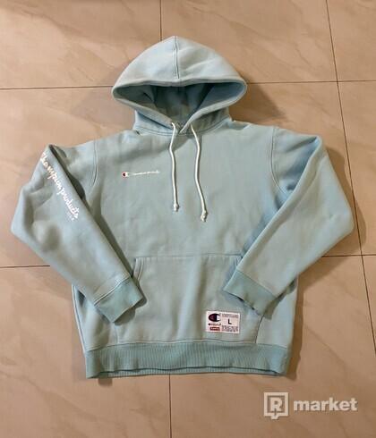 Supreme x Champion Aqua hoodie