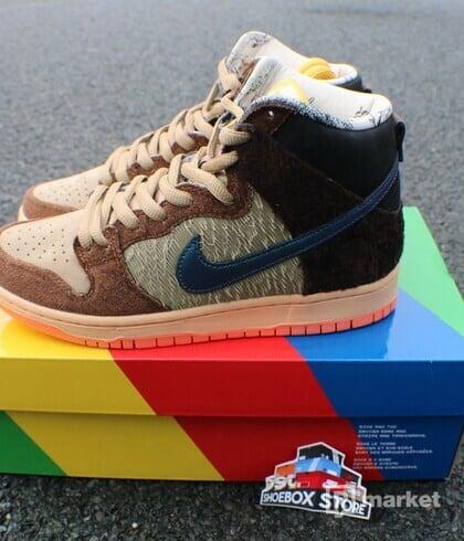 Nike Dunnk High x Cocpets Tundurken