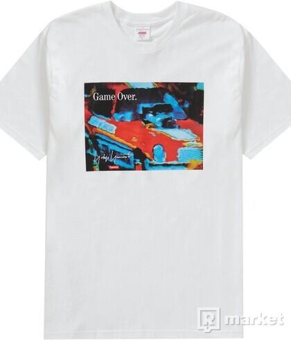 Supreme/Yohji Yamamoto Game Over tee