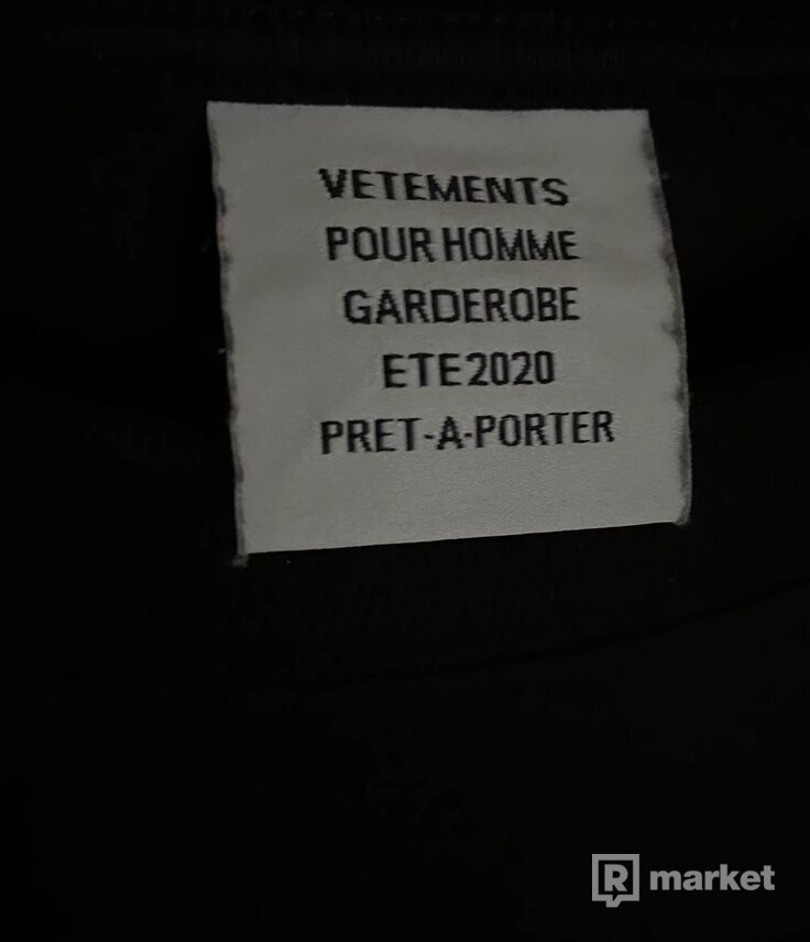 Vetements Ecstasy tee