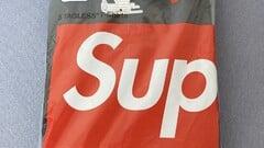 Supreme/Hanes tričko Tee Black