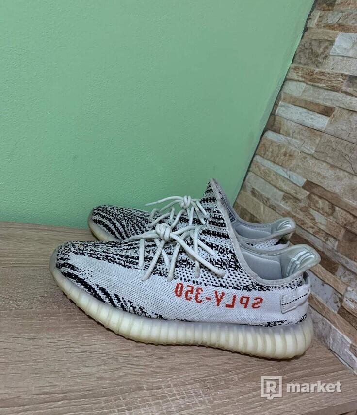 Yeezy 350 zebra v2