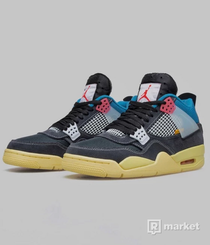 Union LA x Air Jordan 4 Retro SP ''Off Noir'