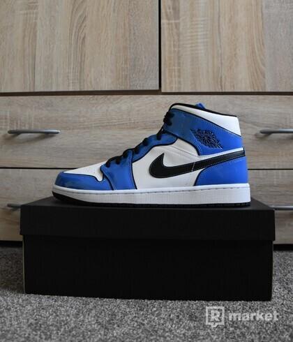 Nike Air Jordan 1 Mid SE Signal Blue