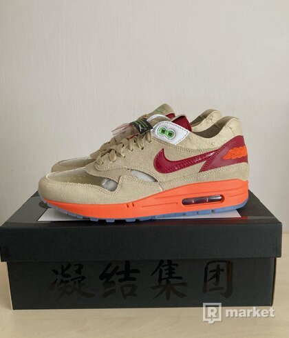"Nike x Cloth Air Max 1 ""Kiss of Death"""