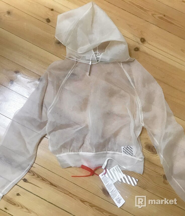 Off-White Organza Hoodie