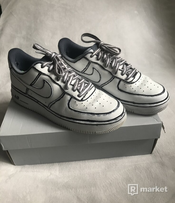 Custom Nike air force