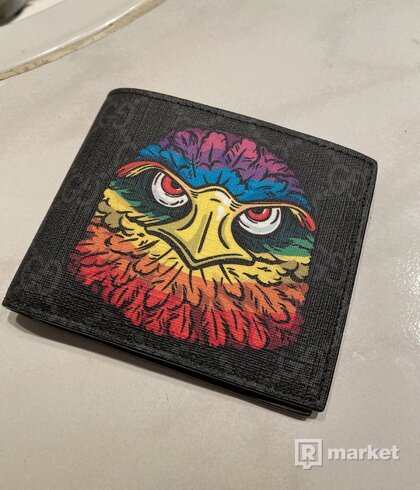 Gucci eagle head wallet
