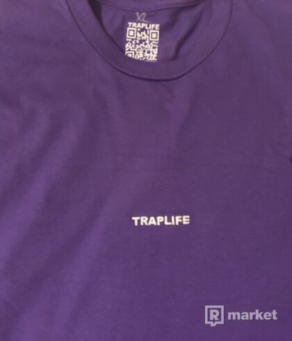 Fialové Traplife Tričko
