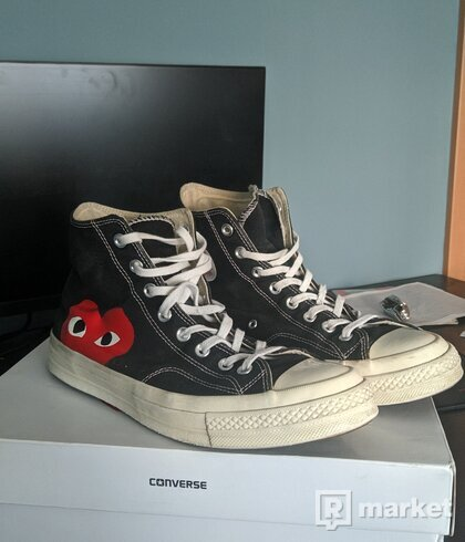 CDG PLAY Converse