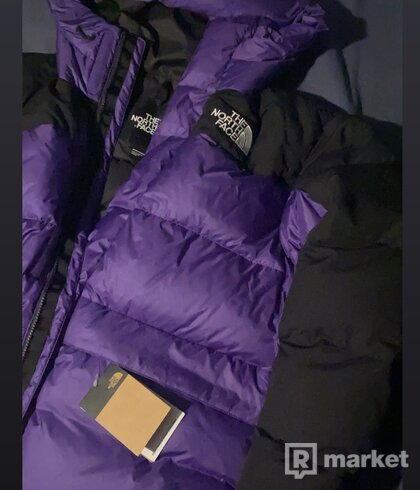 The North Face jacket purple