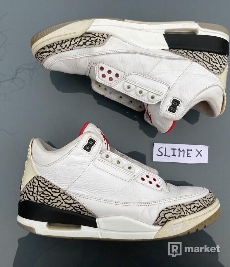 Air Jordan 3 White Cement 2011