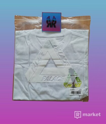 PALACE ROLLS P3 T-SHIRT WHITE DS