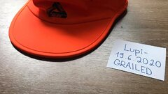 Palace Tri Cool Shell Running Hat Orange