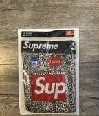 Supreme/Hanes Leopart  boxerky