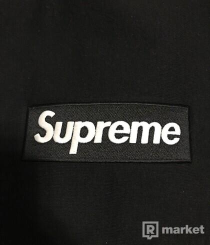 Supreme Box Logo Crewneck Black Sweatshirt