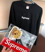 Supreme Box Logo L/S Tee Black Medium