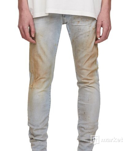 Represent Distressed Denim - Dirt