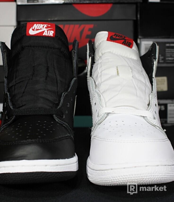 "Air Jordan Retro 1 High OG ""Yin Yang"" Mismatch GS"