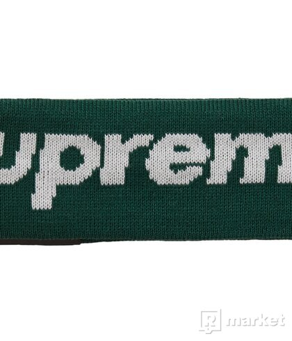 Supreme New Era Big Logo Headband (FW18) dark green