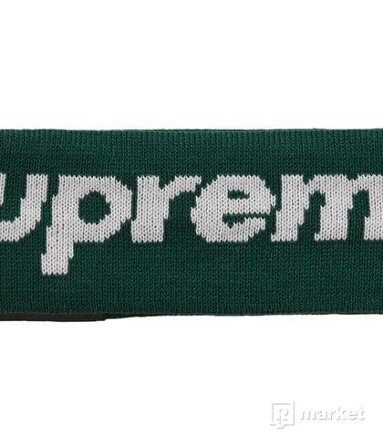 Supreme New Era Big Logo Headband (FW18) dark green