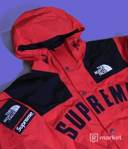 Supreme x The North Face Arc logo parka