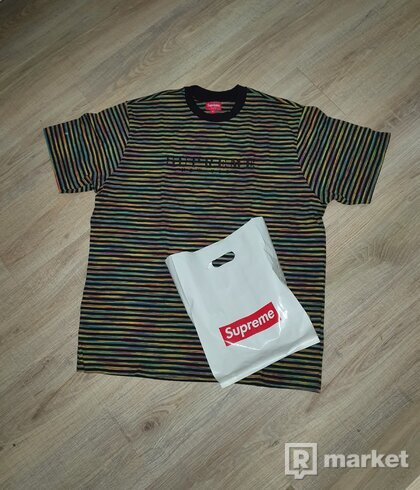 Supreme striped tee