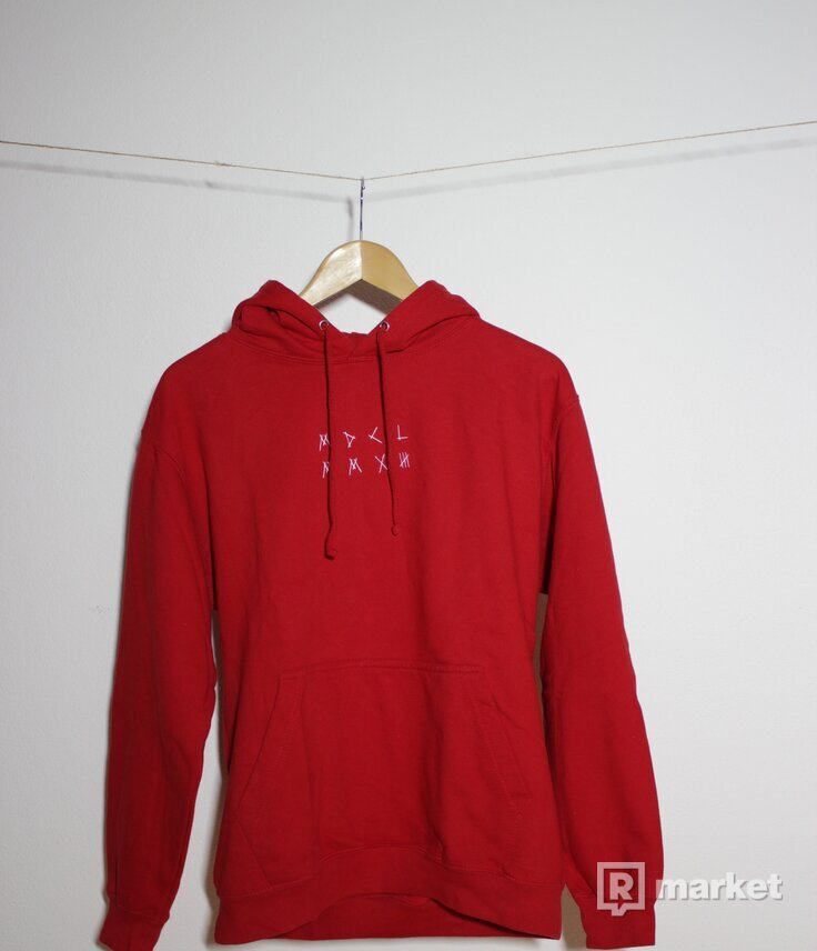 My Dear Logo Hoodie Red